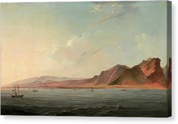 View Of Santa Cruz, Tenerife Signed And Dated Canvas Print