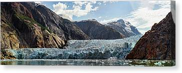 View Of Sawyer Glacier Canvas Print