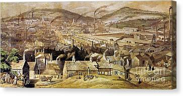 View Of Sheffield England Canvas Print by Granger