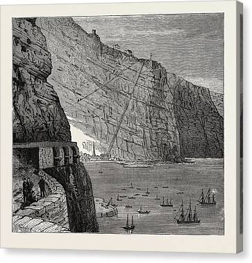 View Of St. Helena Jamestown Canvas Print by Litz Collection