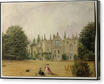 View Of Strawberry Hill Middlesex Canvas Print by Gustave Ellinthorpe Sintzenich