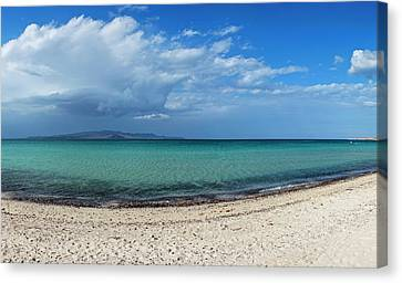 View Of Tecolote Beach In La Paz, Baja Canvas Print by Panoramic Images