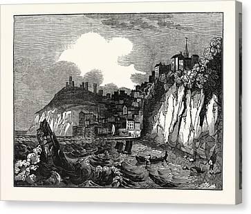 View Of Tenby, Pembrokeshire Canvas Print