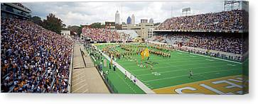View Of The Bobby Dodd Stadium Canvas Print by Panoramic Images