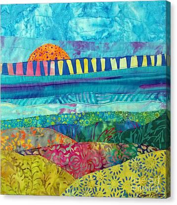 View Of The Bridge Canvas Print by Susan Rienzo