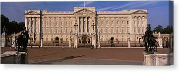 View Of The Buckingham Palace, London Canvas Print by Panoramic Images