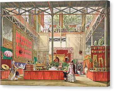 View Of The India Section Of The Great Canvas Print