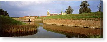Red Roof Canvas Print - View Of The Kronborg Castle, Helsingor by Panoramic Images