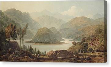 View Of The Mondego River Canvas Print