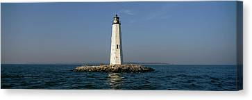 View Of The New Point Comfort Canvas Print