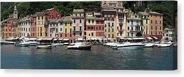 View Of The Portofino, Liguria, Italy Canvas Print