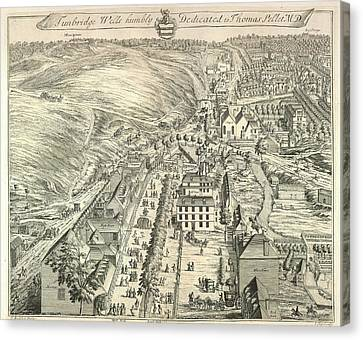 View Of Tunbridge Wells Canvas Print by British Library