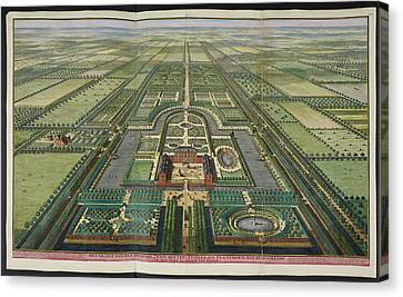 View Of Zeist House Canvas Print by British Library