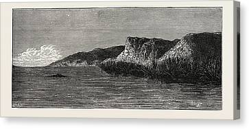 View On The Banks Of The Tigris. The Tigris River Canvas Print