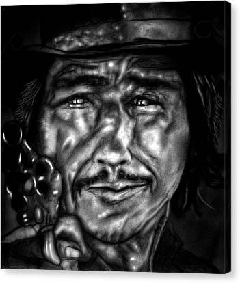 Celeb Canvas Print - View To A Kill by Herbert Renard