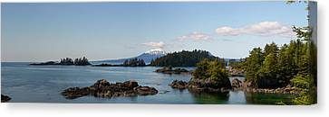 View Toward Mount Edgecumbe, Sitka Bay Canvas Print by Panoramic Images