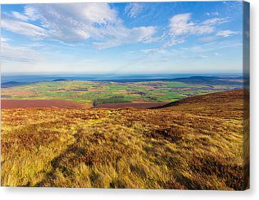 View Towards Greystones From The Wicklow Way Canvas Print