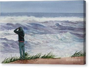 Viewing Nemo Canvas Print by Karol Wyckoff