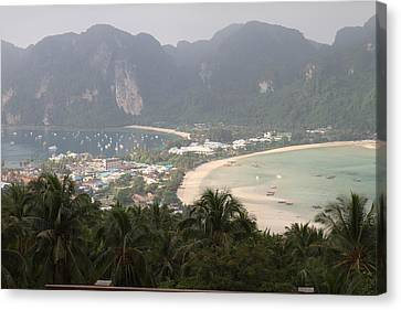Viewpoint - Phi Phi Island - 011311 Canvas Print