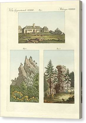 Views Of Harz Canvas Print by Splendid Art Prints