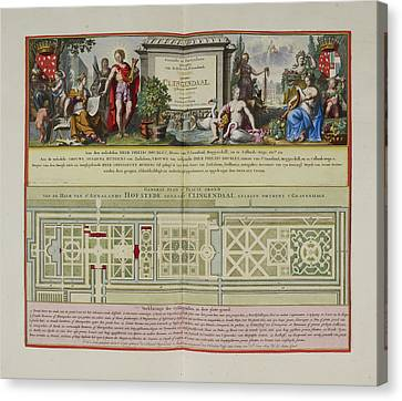 Views Of The Lord Of Annaland's Seat Canvas Print by British Library