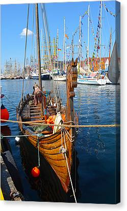 Viking Ship II Canvas Print