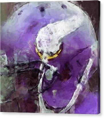 Vikings Art Abstract Canvas Print by David G Paul