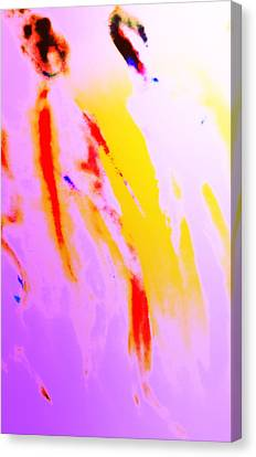 Luminous Body Canvas Print - We Met Some Old Vikings At Our Early Sunday Walk  by Hilde Widerberg