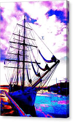 maybe you and I will go out sailing tomorrow  Canvas Print by Hilde Widerberg