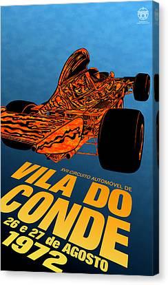 Vila Do Conde Portugal 1972 Grand Prix Canvas Print by Georgia Fowler