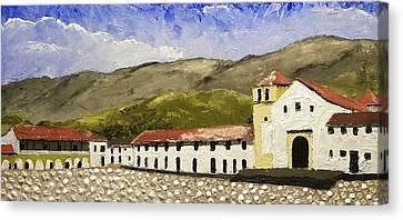 Villa De Leyva Colombia Canvas Print