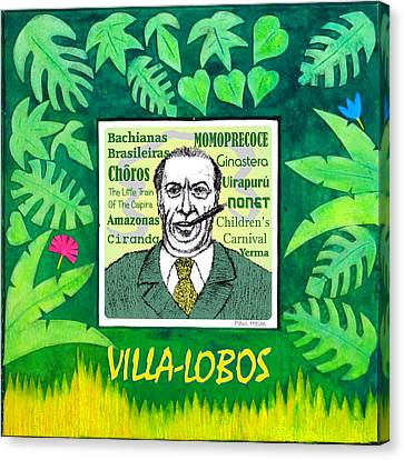 Villa Canvas Print - Villa-lobos by Paul Helm