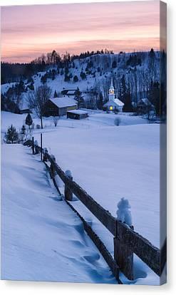Village Beacon Canvas Print by Michael Blanchette
