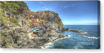 Village Of Manarola Canvas Print