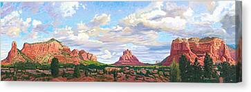 Village Of Oak Creek - Sedona Canvas Print