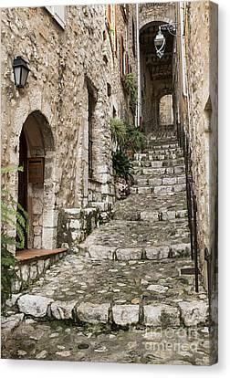 Village Of Saint Paul De Vance Canvas Print by John Greim