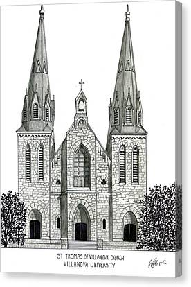Villanova University Canvas Print by Frederic Kohli