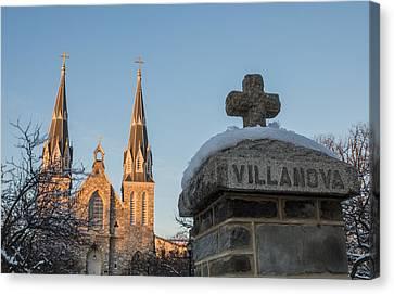 Villanova Wall And Chapel Canvas Print