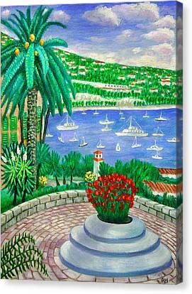 Villefranche Sur Mer---cote-d'azur Canvas Print by Ronald Haber