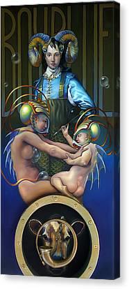 Villeroy Bleu Canvas Print by Patrick Anthony Pierson