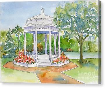 Vimy Memorial Canvas Print by Pat Katz