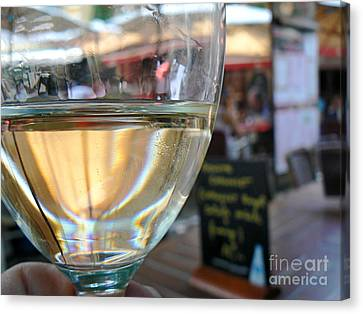 Vin Blanc Canvas Print by France  Art