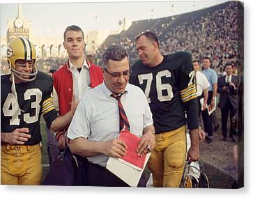 Great Vince Lombardi  Canvas Print by Retro Images Archive