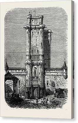 Vincennes, Entrance To The Fort Canvas Print
