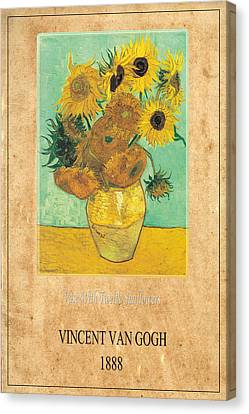 Vincent Van Gogh 2 Canvas Print by Andrew Fare