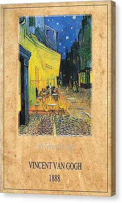 Vincent Van Gogh 3 Canvas Print by Andrew Fare