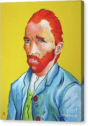 Vincent Van Gogh Canvas Print by Venus