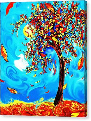 Vincent's Tree Canvas Print