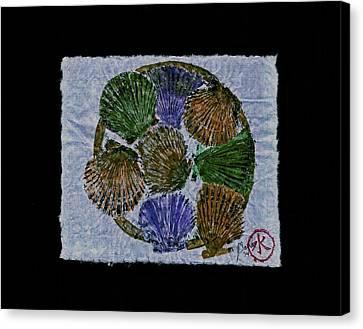 Vineyard Bay Scallops  Canvas Print