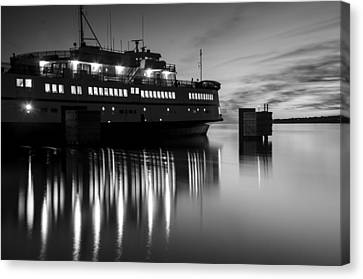 Vineyard Ferry Canvas Print